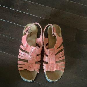 Clarks Heel Sandals
